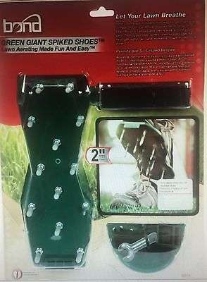 New Bond 9215 Green Giant Spiked Lawn Aerator Shoes  Bond Green Giant Spiked Shoes