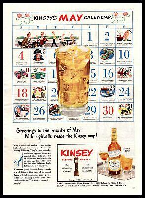 """1947 Kinsey Blended Whiskey Manhattan """"Kinsey"""