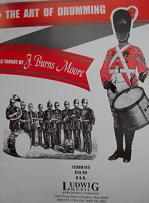 """LUDWIG """"THE ART OF DRUMMING"""" MUSIC BOOK-SNARE DRUM METHOD-BRAND NEW ON SALE-RARE"""