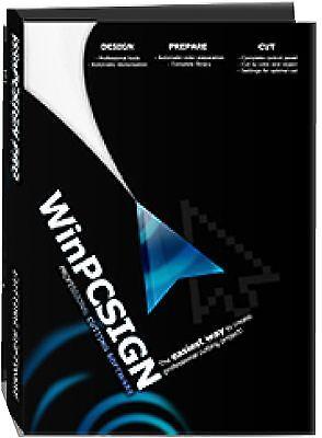 2012 Cutting Software Winpcsign Pro Any Vinyl Cutter Plotter Uscutter Graphtec