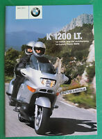 Bmw K1200lt K 1200 Lt Catalogo Depliant Brochure Reclame Pubblicita Prospekt 2 -  - ebay.it