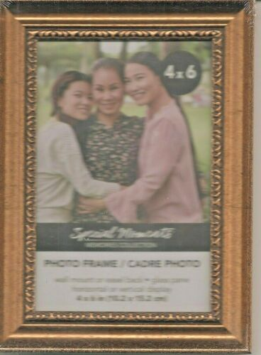 4 x 6~Picture~Frame~~Horizontal~OR~Vertical~GREAT~FRAME-FOR-THE-PRICE!!