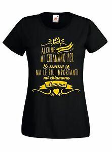 T-shirt-Maglietta-donna-J945-Le-Persone-piu-Importanti-mi-Chiamano-Mamma-Regalo