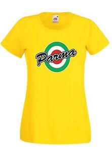 T-shirt-Maglietta-donna-J1451-Parma-Coppa-Italia-Vintage-Retro-Calcio