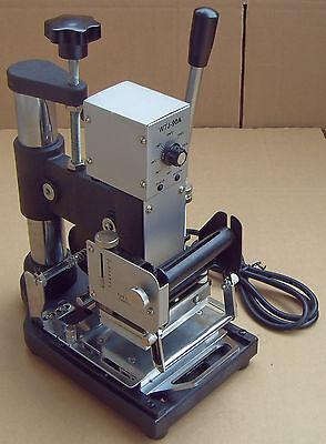 Wtj-90a Manual Hot Foil Stamping Machine Pvc Plastic Card Tipper Stamper