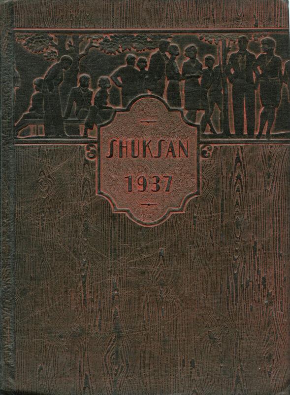 1937 Yearbook - Bellingham High School - Bellingham, Washington