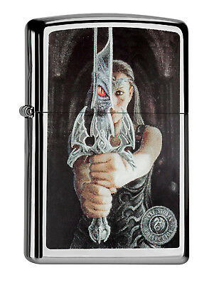 ZIPPO Feuerzeug ANNE STOKES Collection MAGIC SWORD Schwert Magie NEU OVP (Schwert Zippo-feuerzeug)