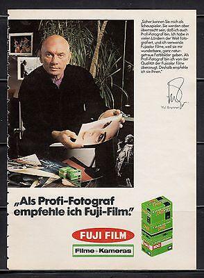 3w638/ Alte Reklame - von 1979 - FUJI FILM
