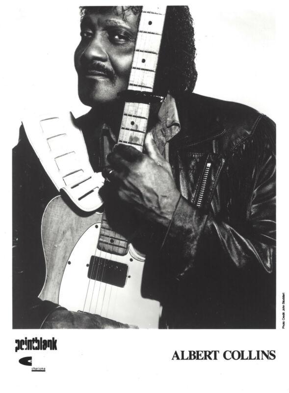 Albert Collins - Record Company publicity photo Pose #1