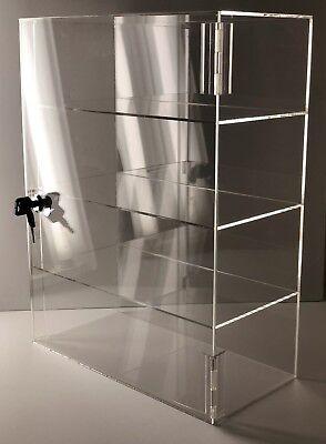 Acrylic Counter Top Display Case Acrylic Locking Show Caseshelves 12x9x20.5
