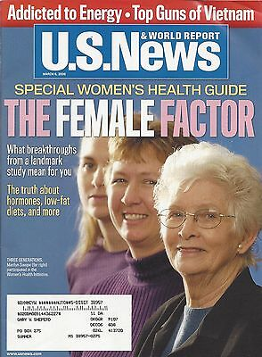 2006 U S  News   World Report Magazine Special Womans Health Guide Lot G