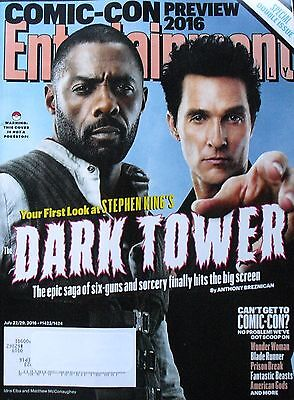 Dark Tower Idris Elba  Matthew Mcconaughey Comic Con 2016 Entertainment Weekly