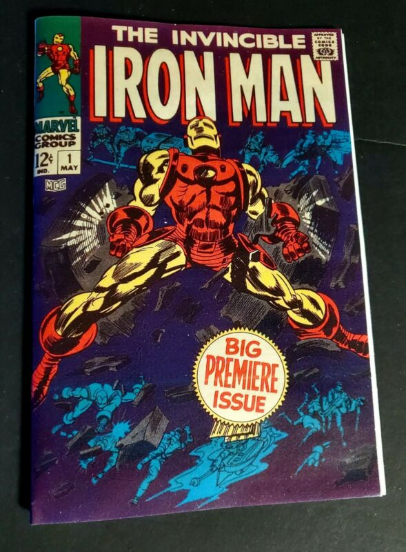 Iron Man # 1 Silver Age Classic  Replica Edition ☆☆☆☆