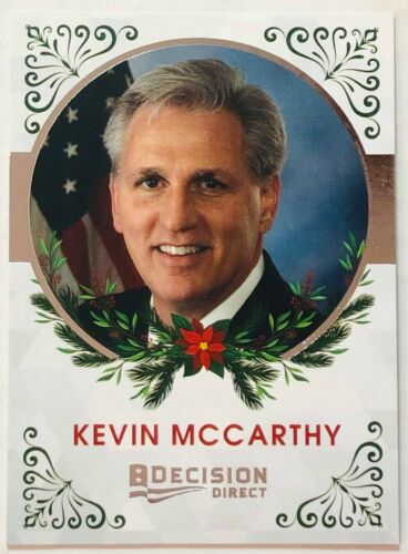 2020 DECISION DIRECT HOLIDAY CARD KEVIN MCCARTHY U.S. HOUSE OF REPRESENTATIVE