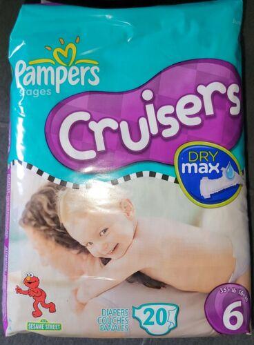 Vintage Pampers Cruisers Diapers 2009