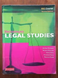 HSC Legal Studies Textbook Liverpool Liverpool Area Preview