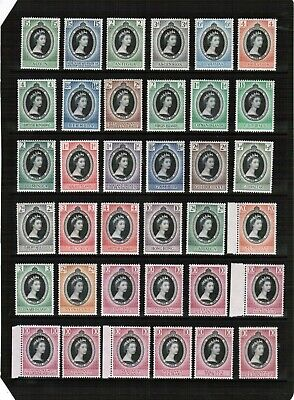 1953 Coronation mixed selection Unmounted Mint