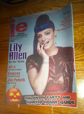 Alt J Halloween (Illinois Entertainer Monthly -Lily Allen (2014 Oct)