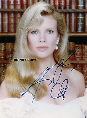 Kim Basinger 8X10 Authentic In Person Signed Autograph Reprint Photo Rp