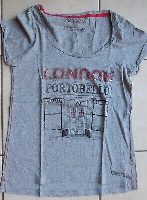 PEPE JEANS Tshirt gris london portobello  strass M