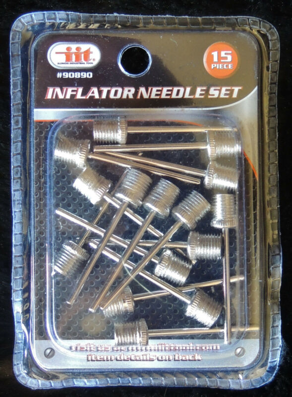 IIT 90890 Inflator Needle Set, 15-Piece 90890