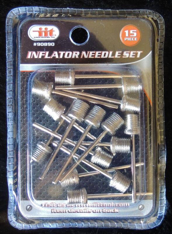 IIT 90890 Inflator Needle Set, 15-Piece 90890