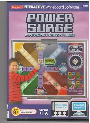 POWER SURGE A PHYSICAL SCIENCE GAME (PC)