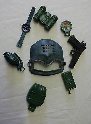 f-Set Spielset Soldat Kostüm Maske Pistole Uhr  129334313 (Uhr Kostüm)