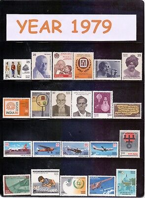 INDIA 1979 YEAR PACK COMPLETE COMMEMORATIVE MNH for sale  Shipping to India