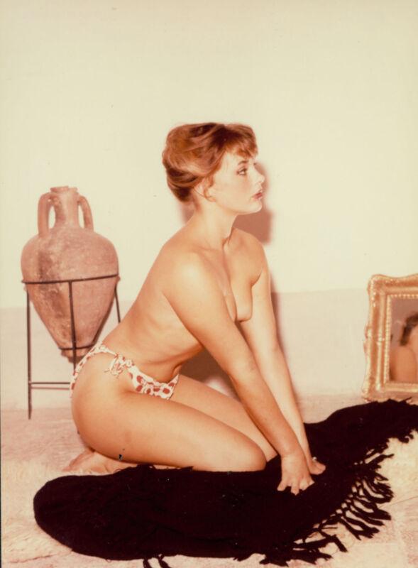 SEXY TEENAGE  ELKE SOMMER BRA AND PANTIES PHOTO
