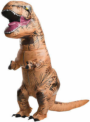 Jurassic World Park T-Rex Dinosaurier aufblasbar Karneval Fasching Kostüm ()
