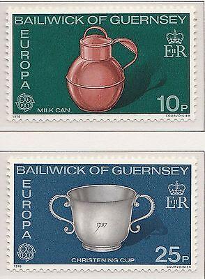 Europa CEPT 1976 Ambachten Guernsey 133-134 - Postfris  MNH