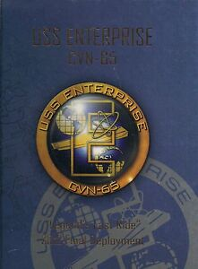 ★★ USS ENTERPRISE CVN-65 FINAL DEPLOYMENT CRUISE BOOK YEAR LOG 2012 - NAVY ★★