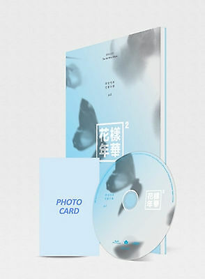 BTS 4th Mini Album [In The Mood For Love] PT.2 Blue Ver. CD+Photobook+Photocard