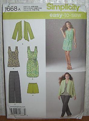 Швейные выкройки Womens/Miss Dress Top Pants