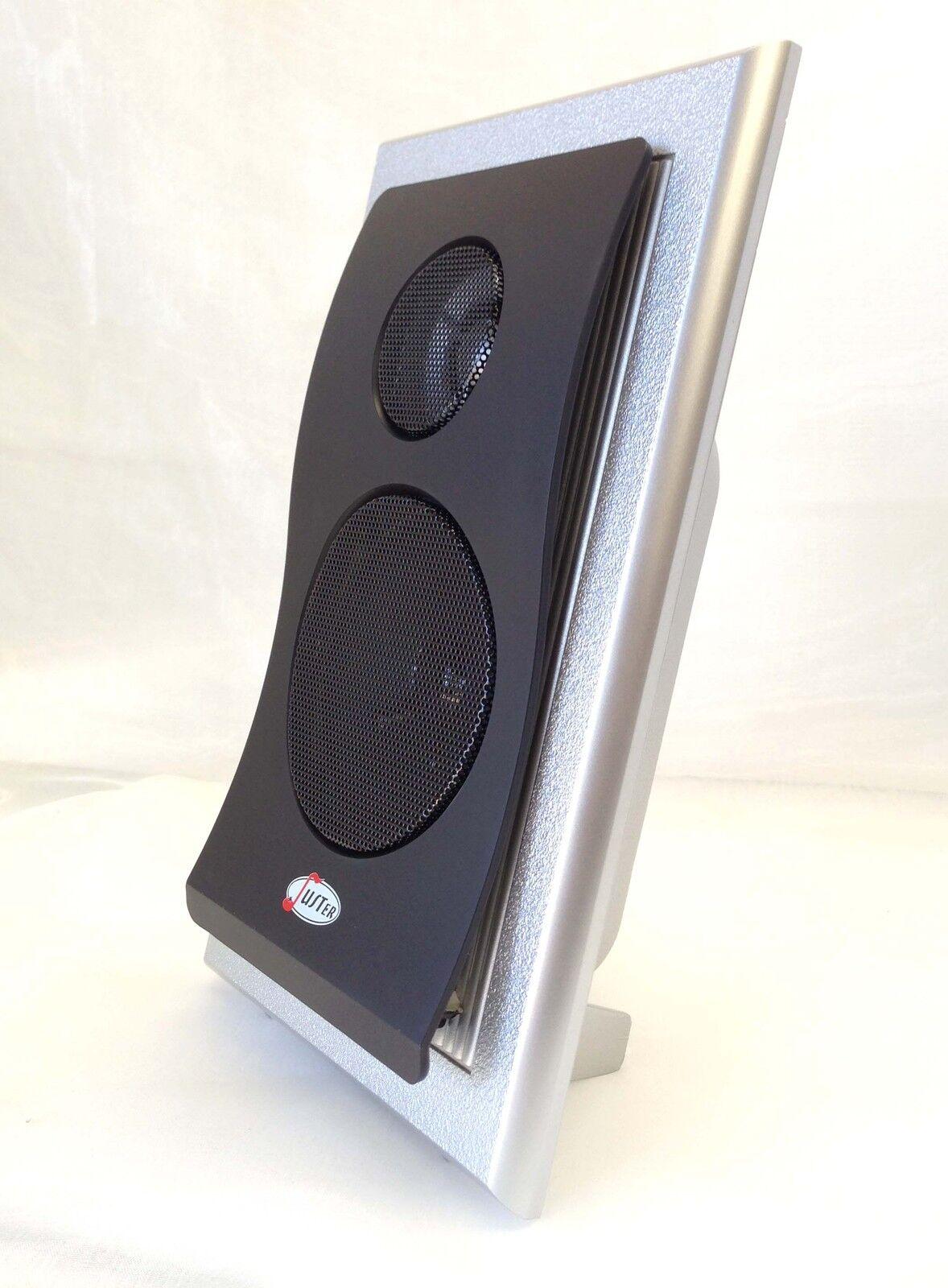 Juster 3d 602 Multimedia 21 Speaker System For Desktop Pc Mp3 Quatro 2 Super Loud 20 Usb By Sonicgear Green 3 Of 6