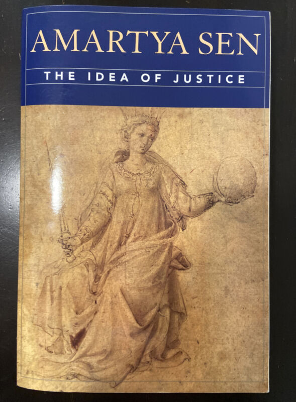 The Idea Of Justice By S. Charles, Amartyá Sen, Ian Jorge And H. Joseph...