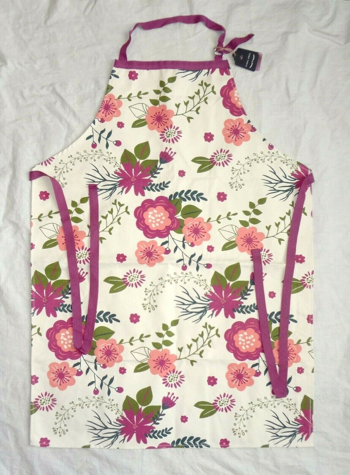 NWT Bell & Curfew Floral Adult Apron - Spring Easter Mother'