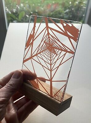Stained Glass Panel Pylon