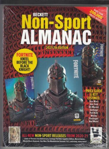 Beckett Non-Sport Almanac 2021 7th Edition Fortnite on Cover