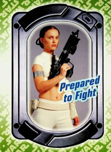 Padme Amidala -Prepared to Fight- Star Wars Poster 8x11 Aggressive Negotiations