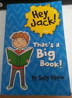 Hey Jack!  That's A Big Book by Sally Rippin Boronia Heights Logan Area Preview