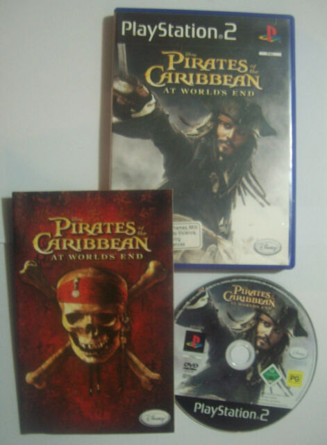 Disney Pirates of the Caribbean: At Worlds End Sony PlayStation 2 PS2 Game Depp