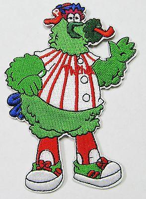 LOT OF  MLB BASEBALL PHILA. PHILLIES PHANATIC MASCOT EMBROID