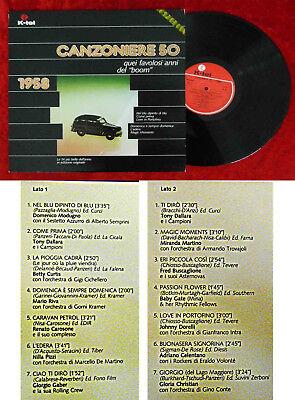 LP Canzoniere 50: 1958 (K-Tel SKI 5075) Italien 1981