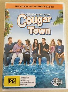 Cougar Town S2 & S3 DVDs Oxley Park Penrith Area Preview