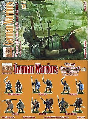 Versand in D MIB inkl 1//72 linear-a 009 German Warriors OVP