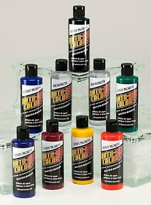 Auto Air Colors - Candy Pigment Set - Airbrush Paint Kit (9 x 4oz.) #4952-C