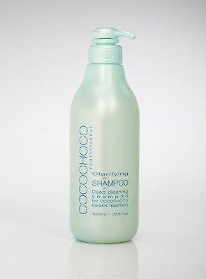 Cocochoco Clarifying Shampoo - BEFORE Keratin Straightening 1 LITRE (UK)