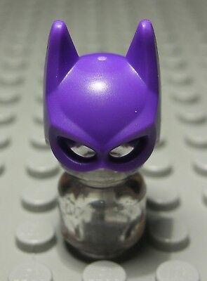 Kopfbedeckung Maske Lila Batman                     (1604 #) (Lego Batman-maske)